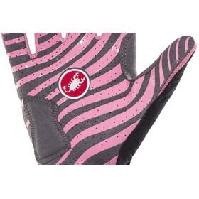 Castelli CW 6.0 Cross fietshandschoenen Heren roze/zwart